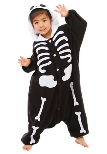 Click Here to buy Skeleton Kigurumi for Kids from HalloweenCostumes, USA Funds & Shipping