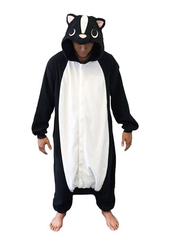 Click Here to buy Skunk Adult Kigurumi from HalloweenCostumes, USA Funds & Shipping