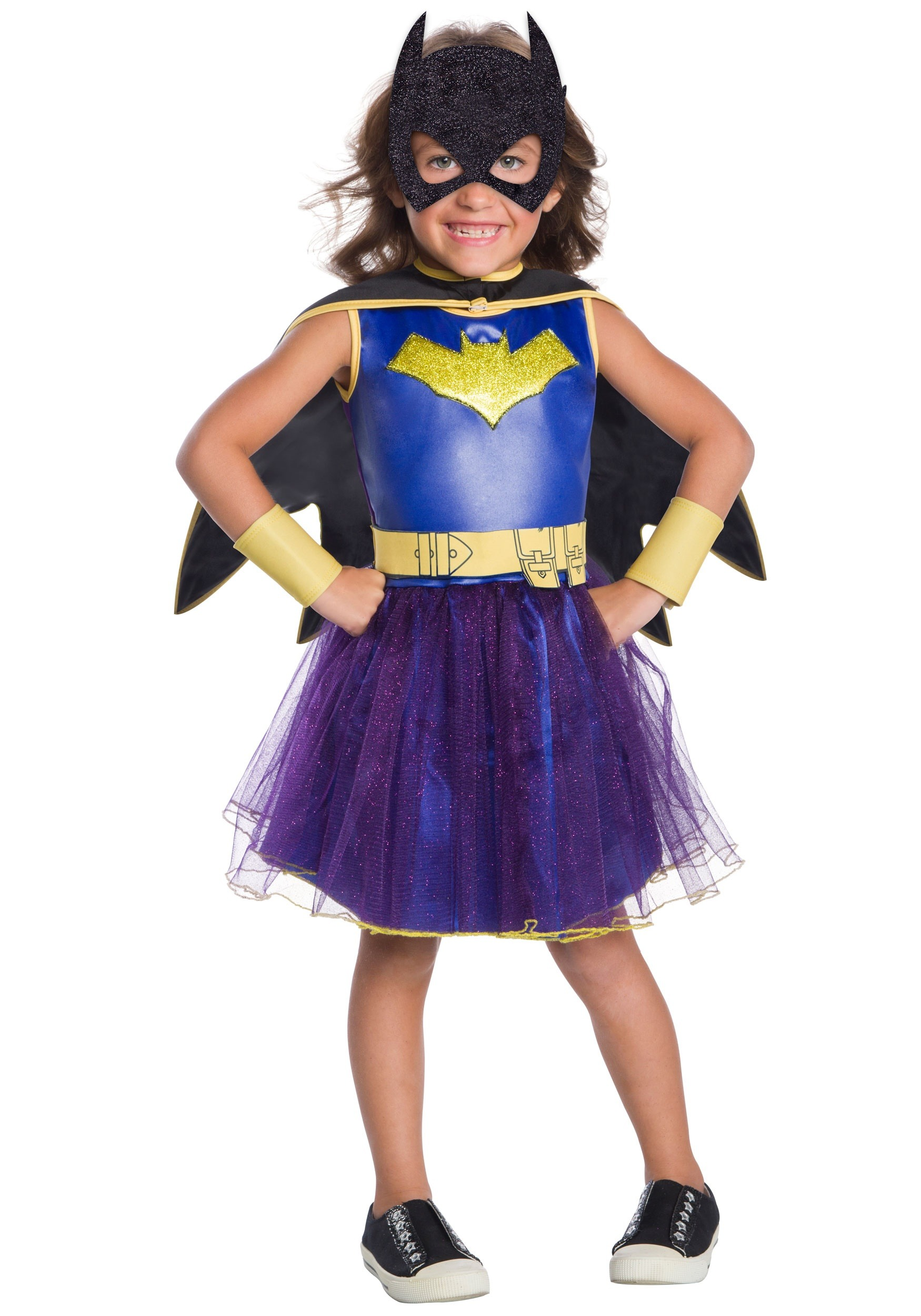 Deluxe Batgirl Toddler Girls Costume  sc 1 st  Halloween Costumes & Deluxe Batgirl Toddler Costume for Girls