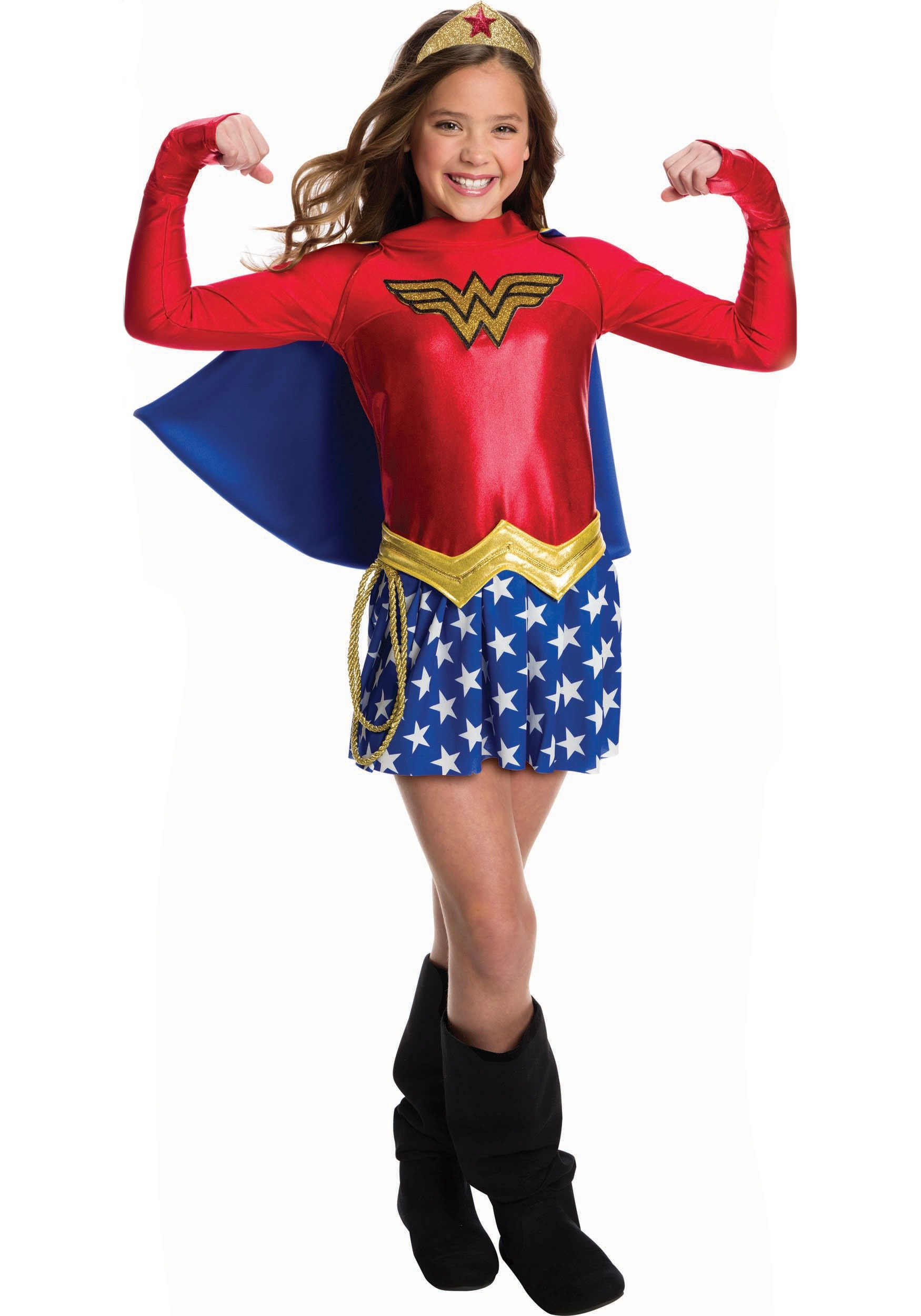 Wonder Woman Girls Costume-3200