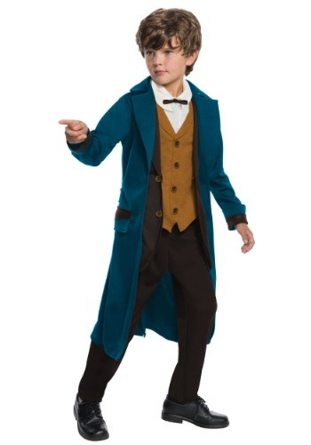 Click Here to buy Deluxe Newt Scamander Boys Costume from HalloweenCostumes, USA Funds & Shipping