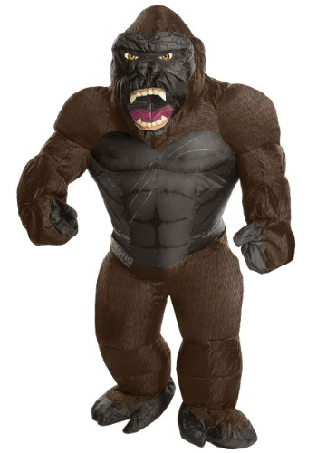 Click Here to buy Inflatable King Kong Kids Costume from HalloweenCostumes, CDN Funds