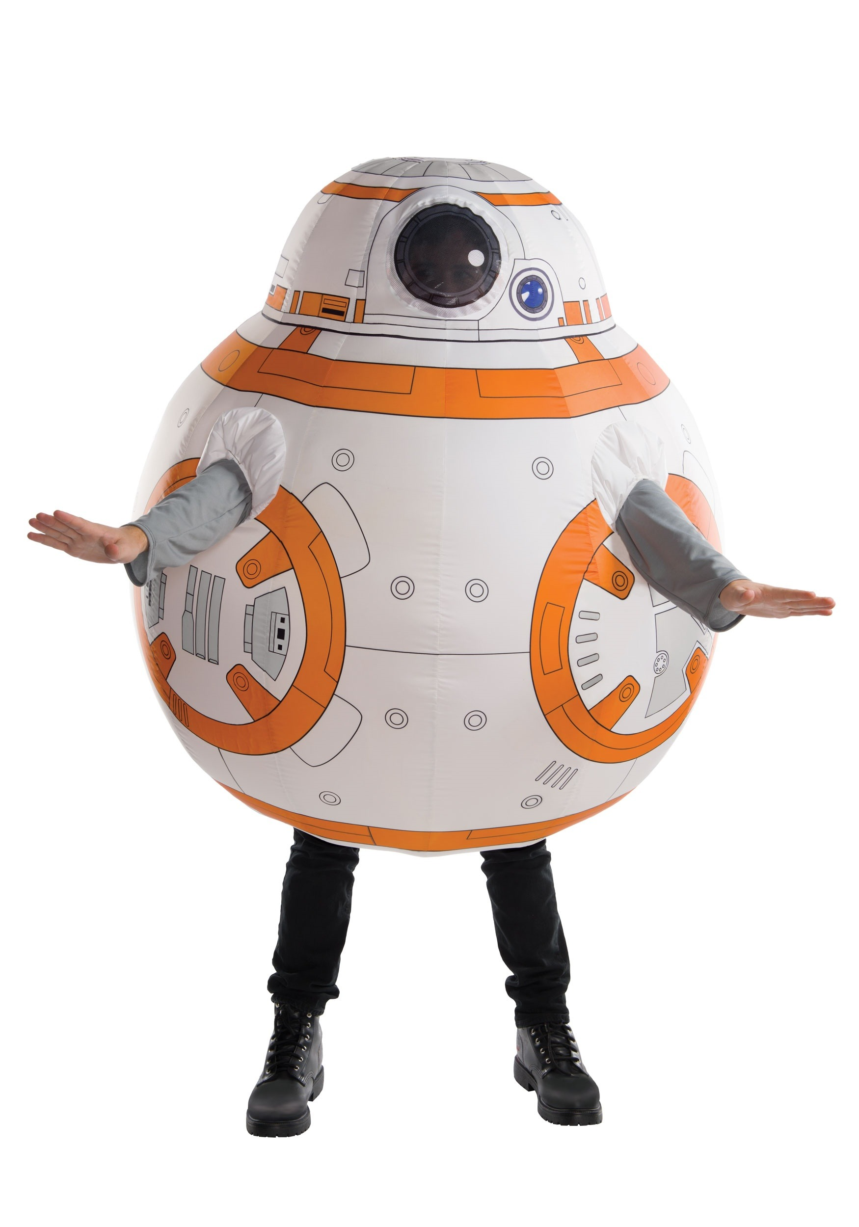 star wars bb8 inflatable costume for adults
