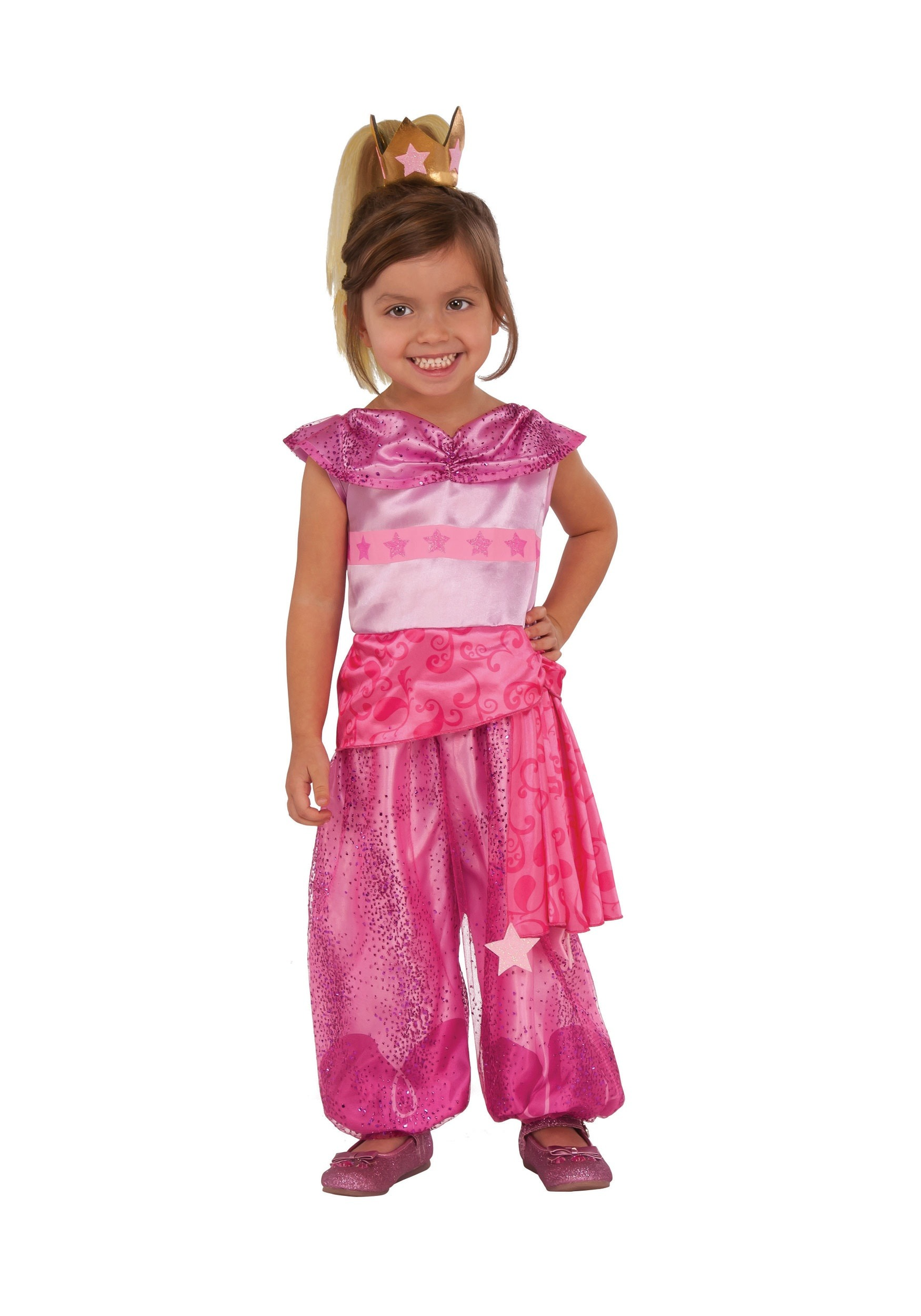 Shimmer And Shine Leah Costume For Toddlers