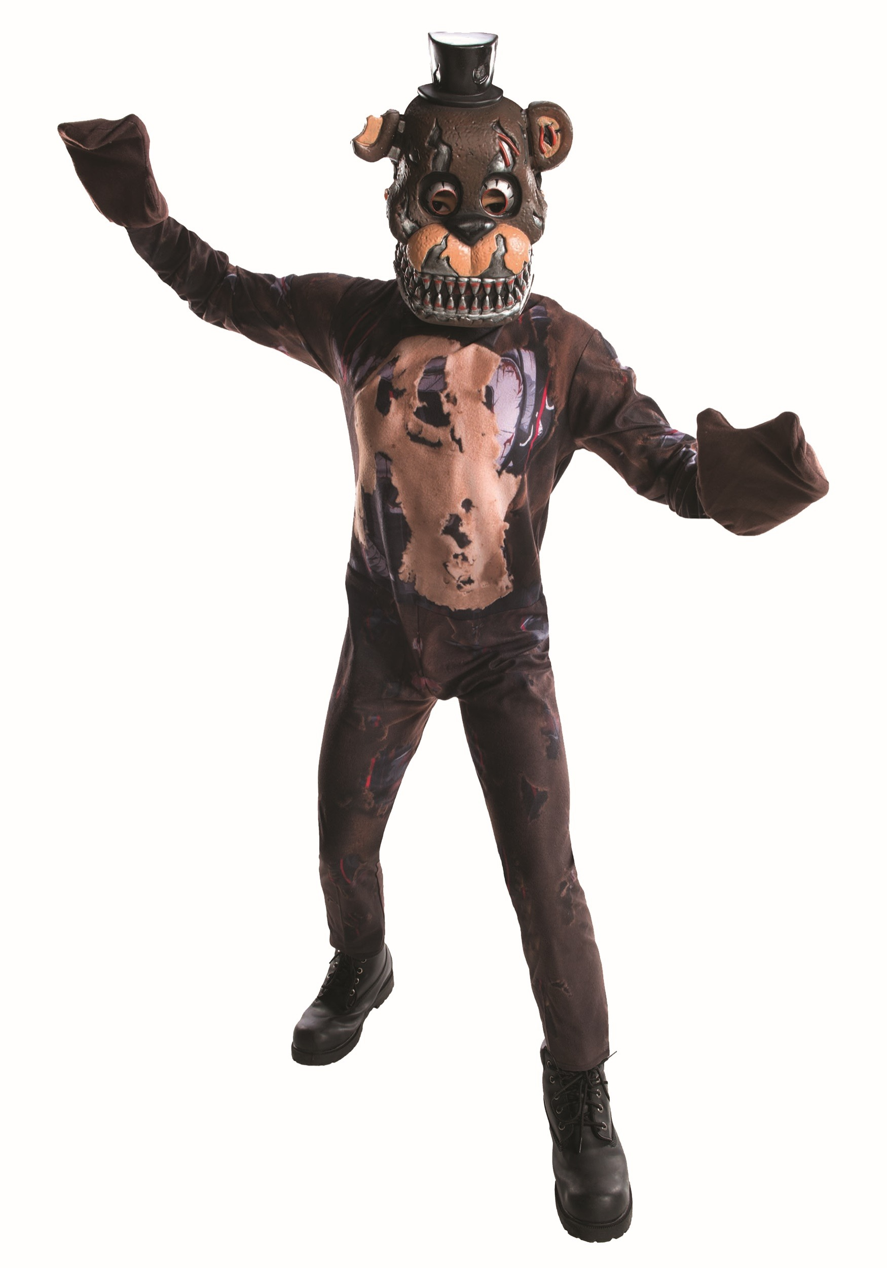 five nights at freddy s nightmare freddy costume for boys