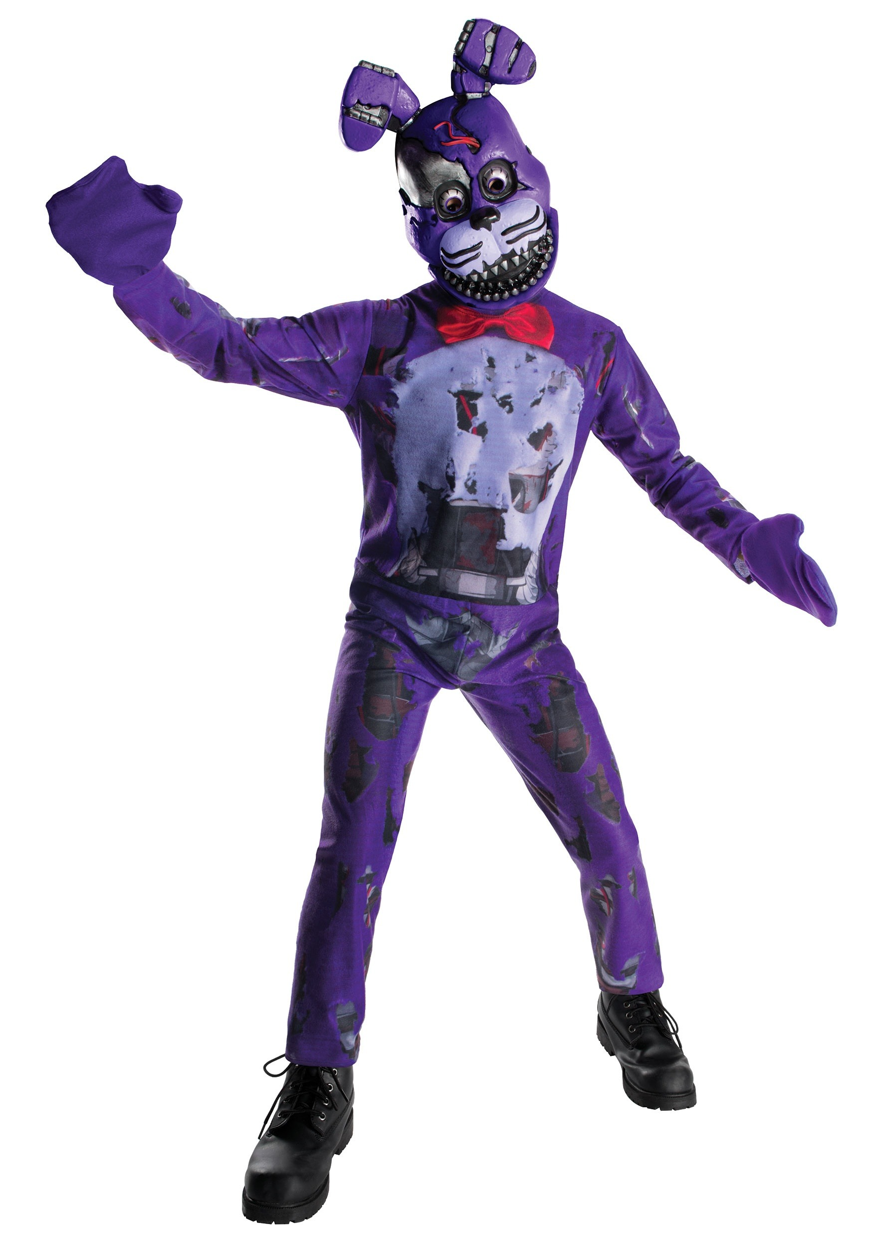 five nights at freddys nightmare bonnie kids costume