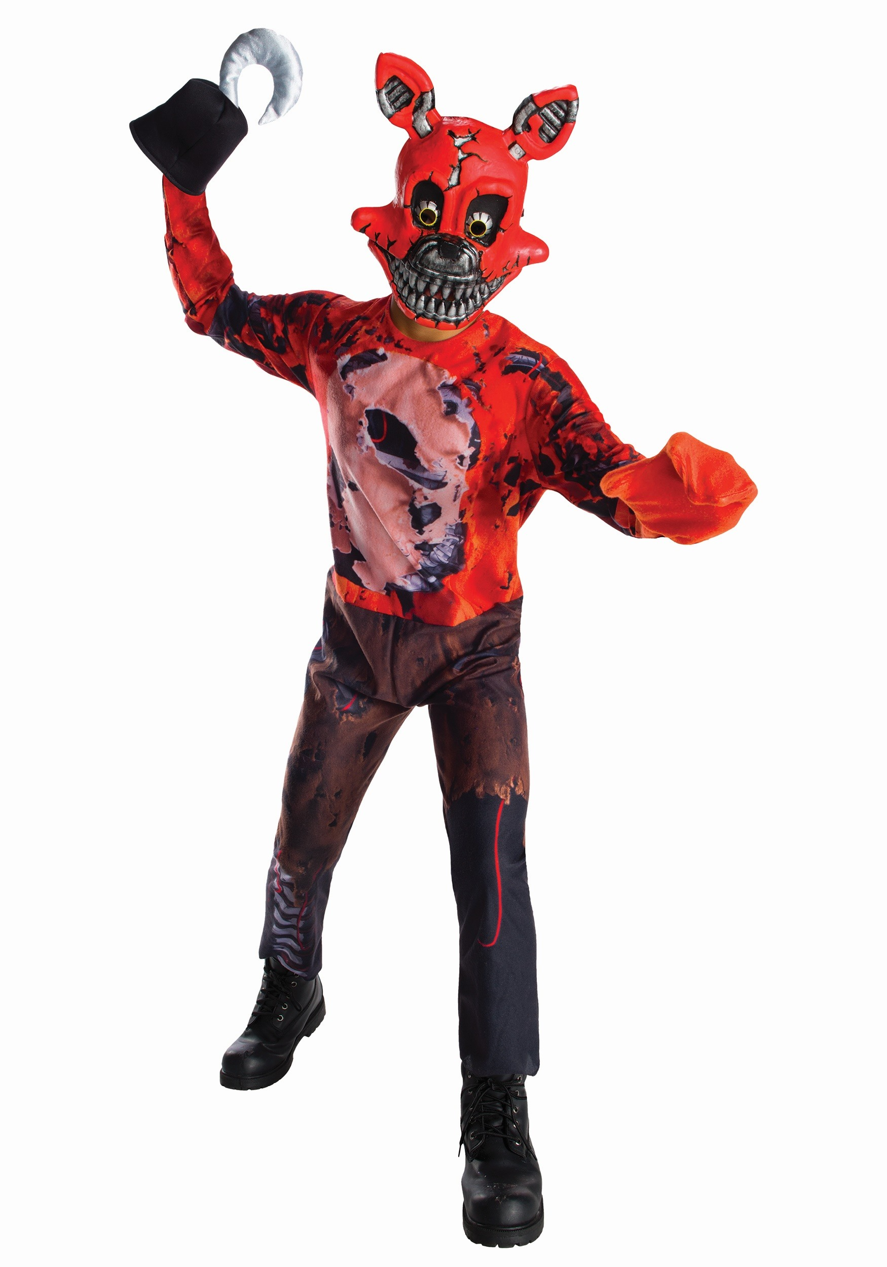 Five Nights At Freddys Nightmare Foxy Boys Costume