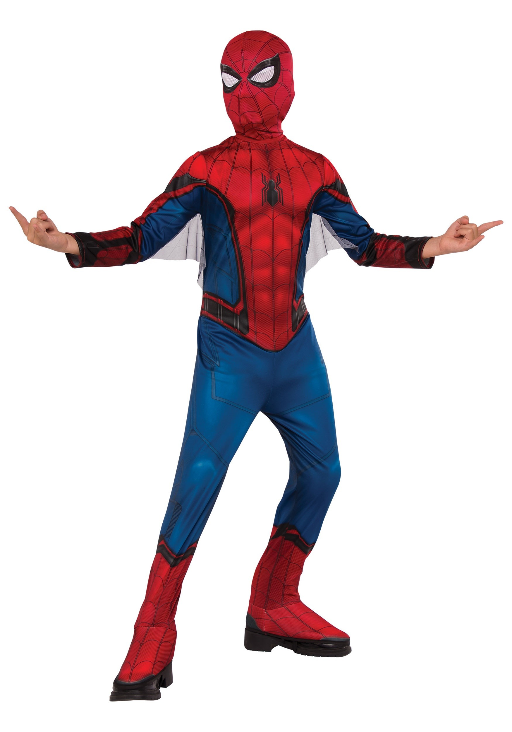Boys Classic Spider-Man Costume  sc 1 st  Halloween Costumes & Spider-Man Costumes - Adult and Kids Spider-Man Halloween Costumes