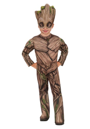 Click Here to buy Toddler Deluxe Groot Costume from HalloweenCostumes, USA Funds & Shipping