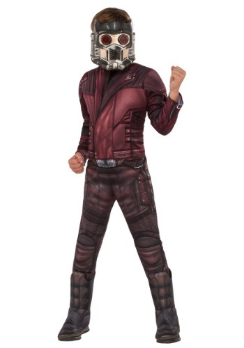 Click Here to buy Boys Deluxe Star Lord Costume from HalloweenCostumes, USA Funds & Shipping