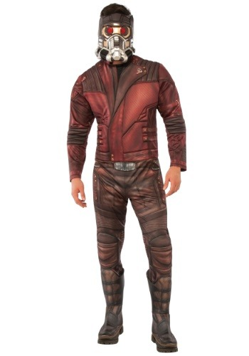 Click Here to buy Deluxe Star-Lord Mens Costume from HalloweenCostumes, USA Funds & Shipping