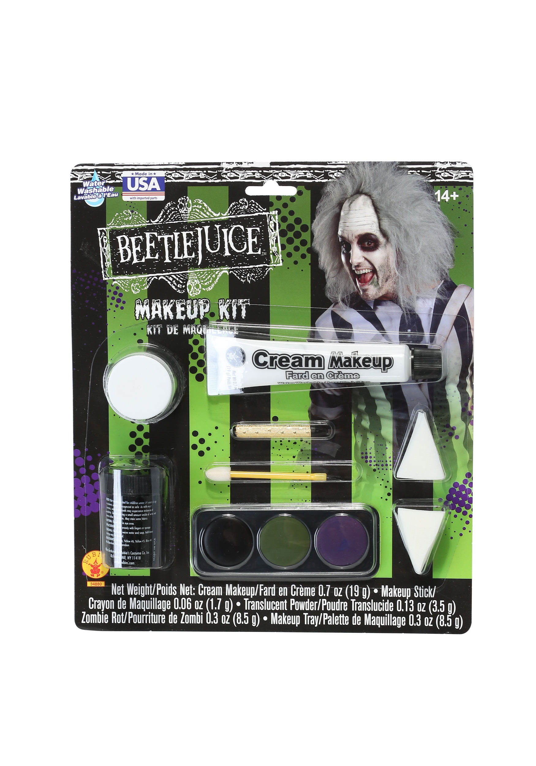 Makeup Kit: Rubies Deluxe Beetlejuice Makeup Kit