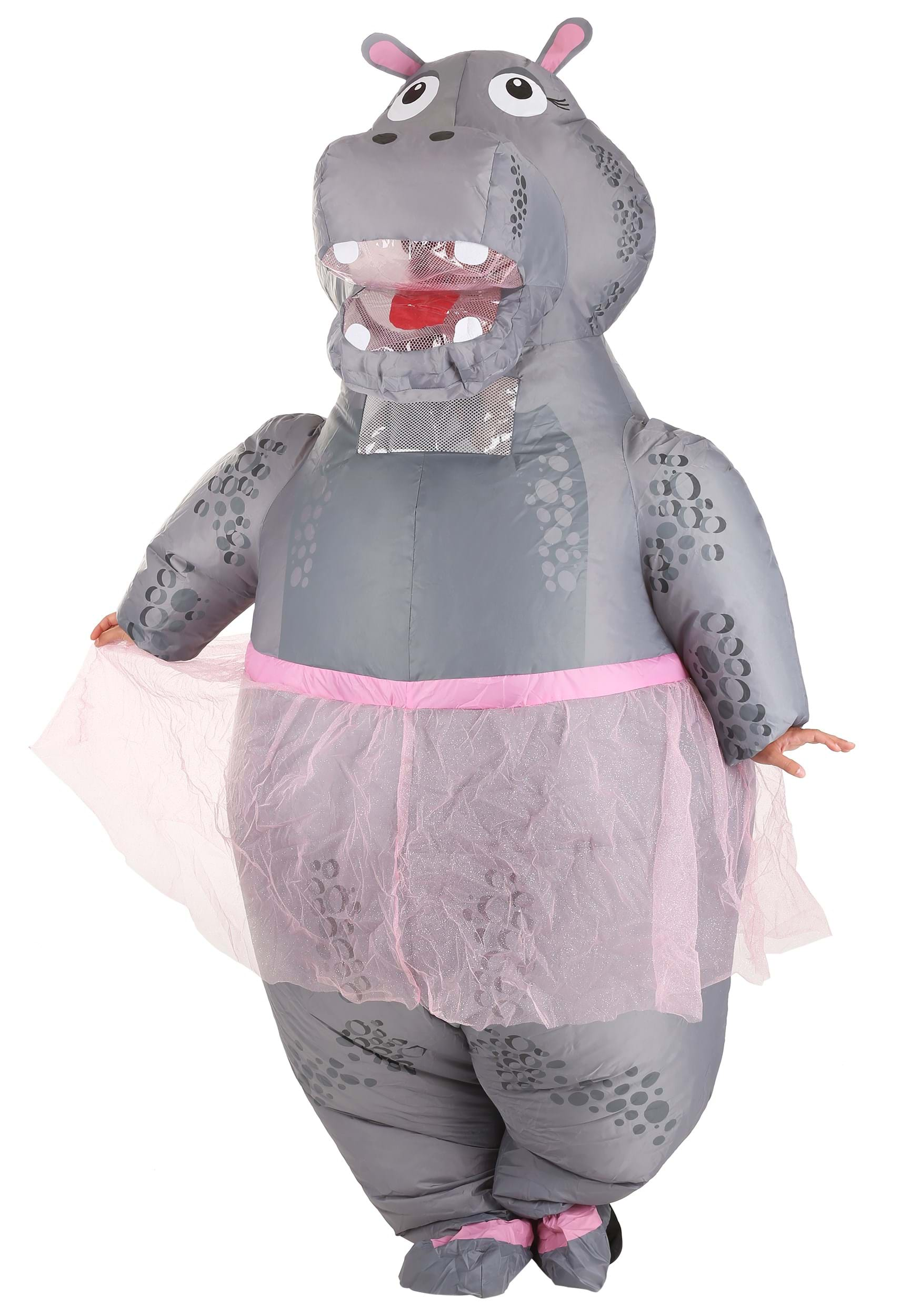 Inflatable Adult Hippo Costume