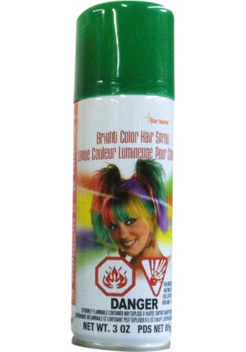 INOpets.com Anything for Pets Parents & Their Pets Green Hair Spray