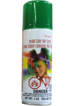 Green Hair Spray