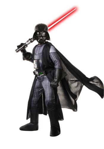 Click Here to buy Star Wars Realistic Darth Vader Boys Costume from HalloweenCostumes, CDN Funds