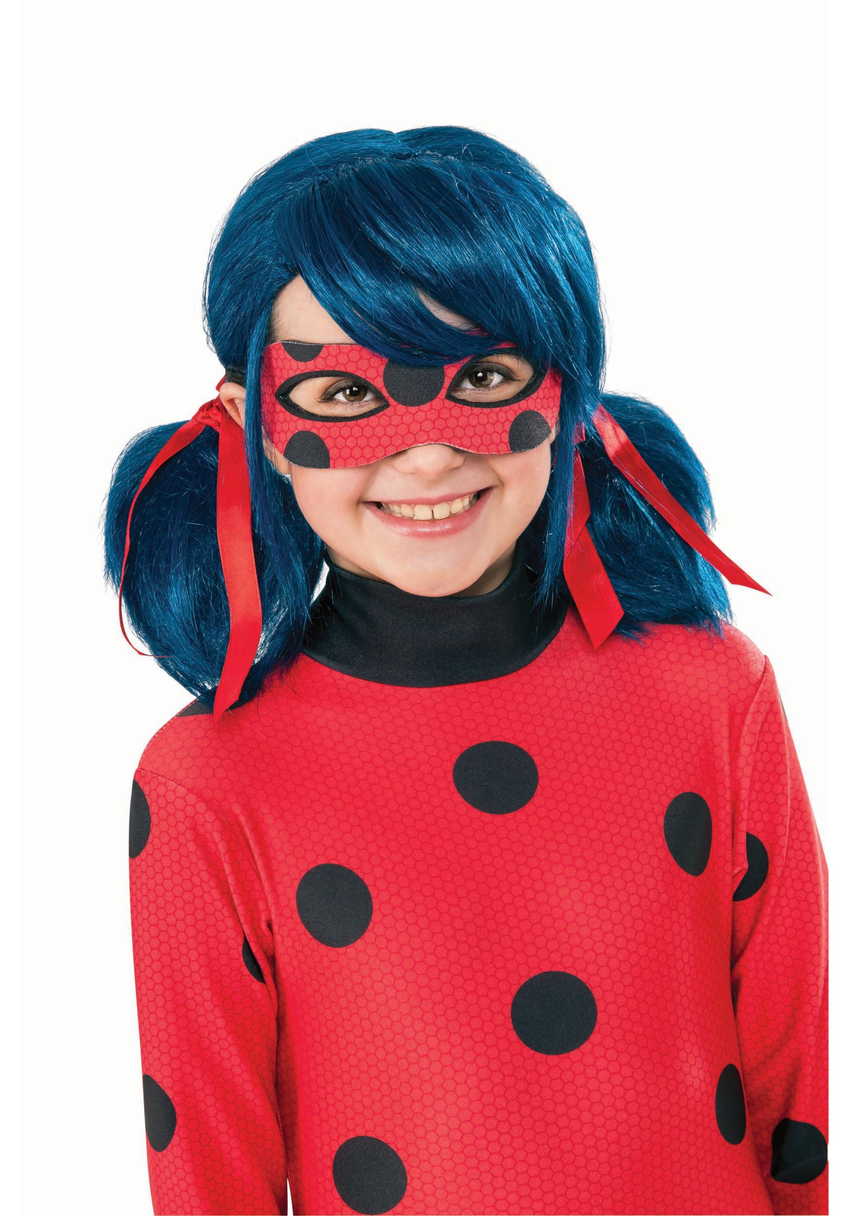 Miraculous Ladybug Wig For Girls