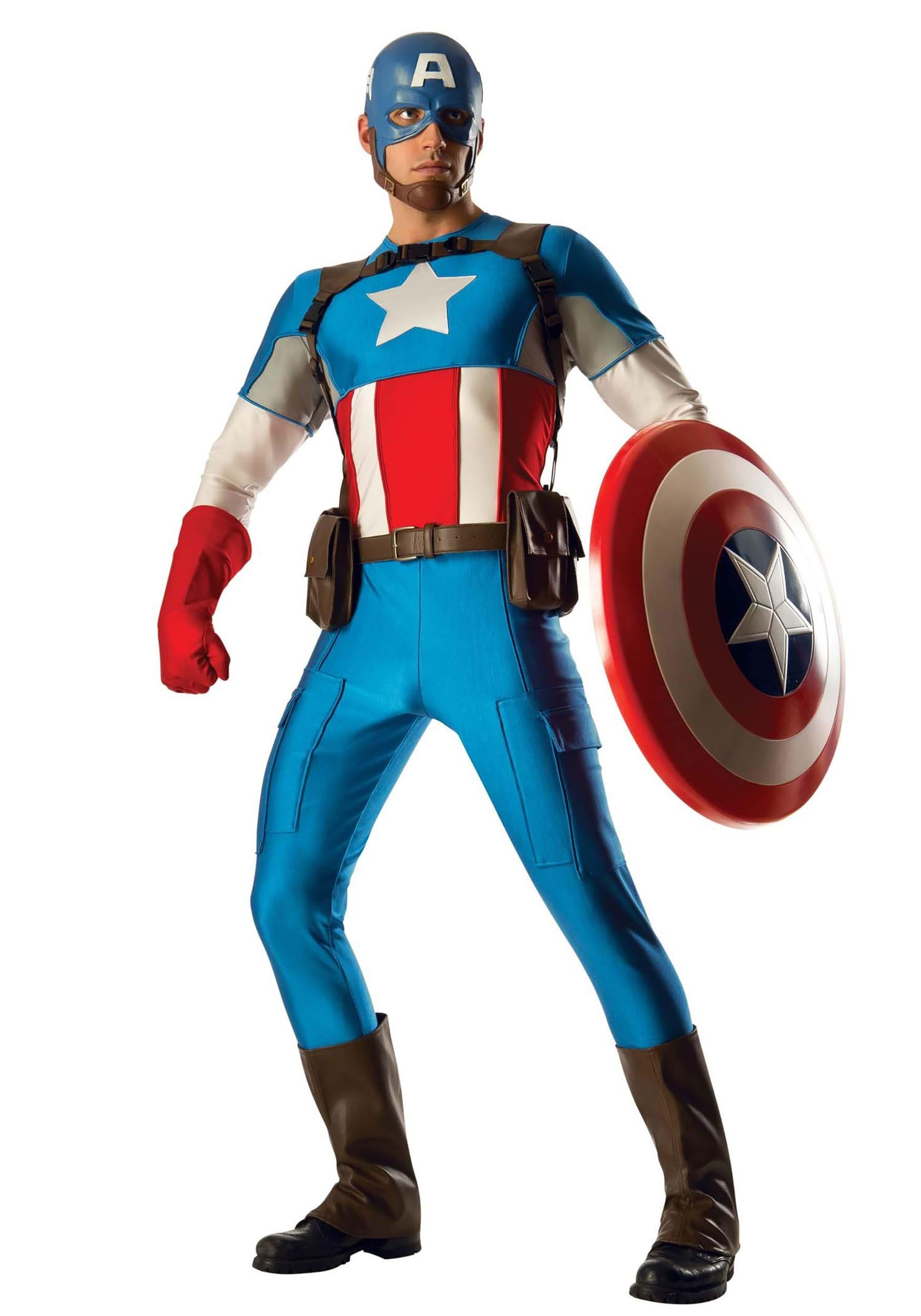 Captain America Harness Strap Buckle Cosplay Costume Prop Replica Belt Halloween