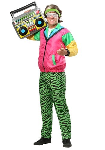 Mens 80's Jock Plus Size Costume up