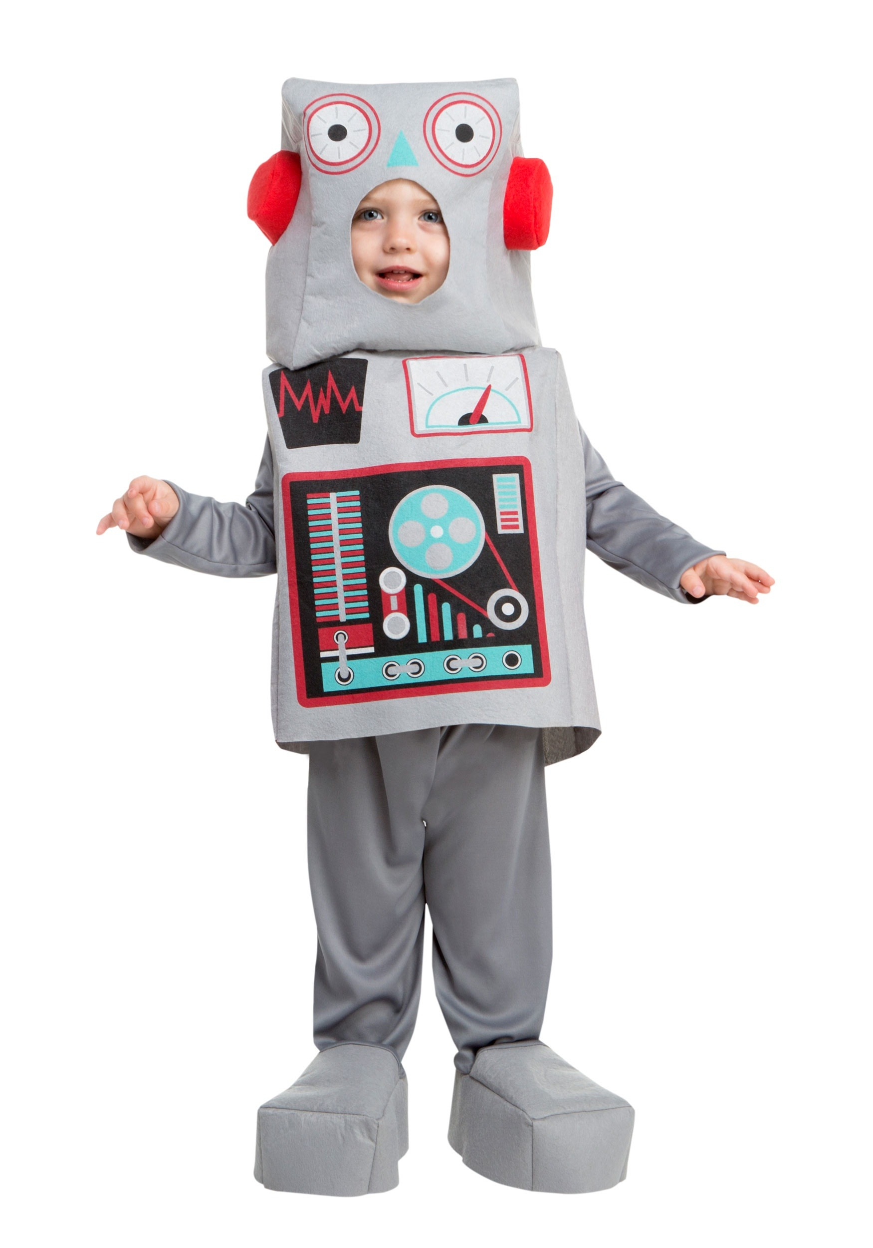 sc 1 st  Halloween Costumes & Child Toy Robot Costume