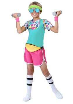 Boy's Work It Out 80's Costume