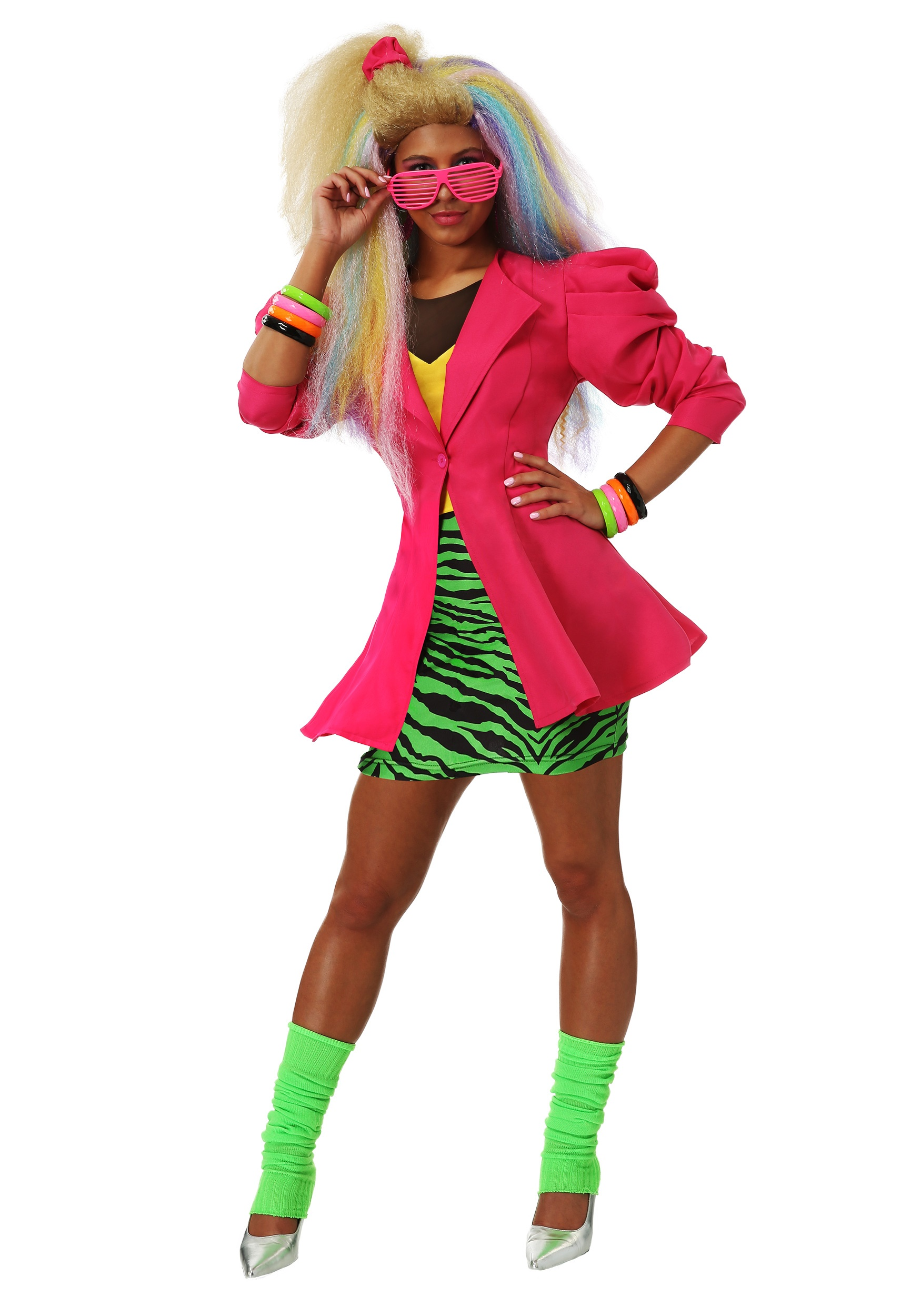 80s Fashion Trends 35 Iconic Looks From The Eighties: Plus Size 80's Valley Girl Women's Costume