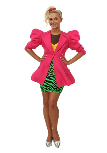 Click Here to buy Plus Size 80s Valley Girl Womens Costume from HalloweenCostumes, CDN Funds