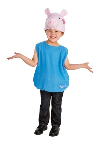 Click Here to buy Boys George Pig Costume from Peppa Pig from HalloweenCostumes, USA Funds & Shipping