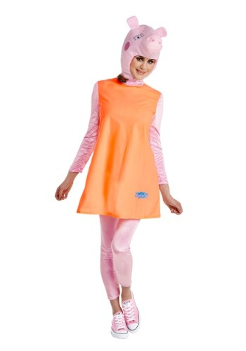 Click Here to buy Mummy Pig Womens Costume from Peppa Pig from HalloweenCostumes, USA Funds & Shipping