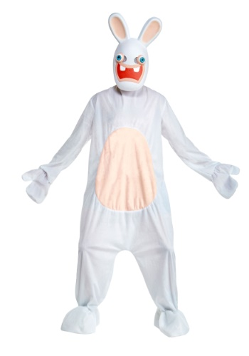 Click Here to buy Deluxe Rabbids Costume for Adults from HalloweenCostumes, CDN Funds