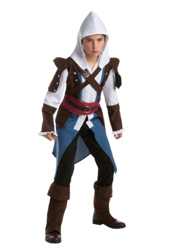 Click Here to buy Edward Kenway Kids Costume from Assassins Creed from HalloweenCostumes, USA Funds & Shipping