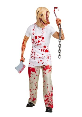 Adult American Horror Story Piggy Man Costume