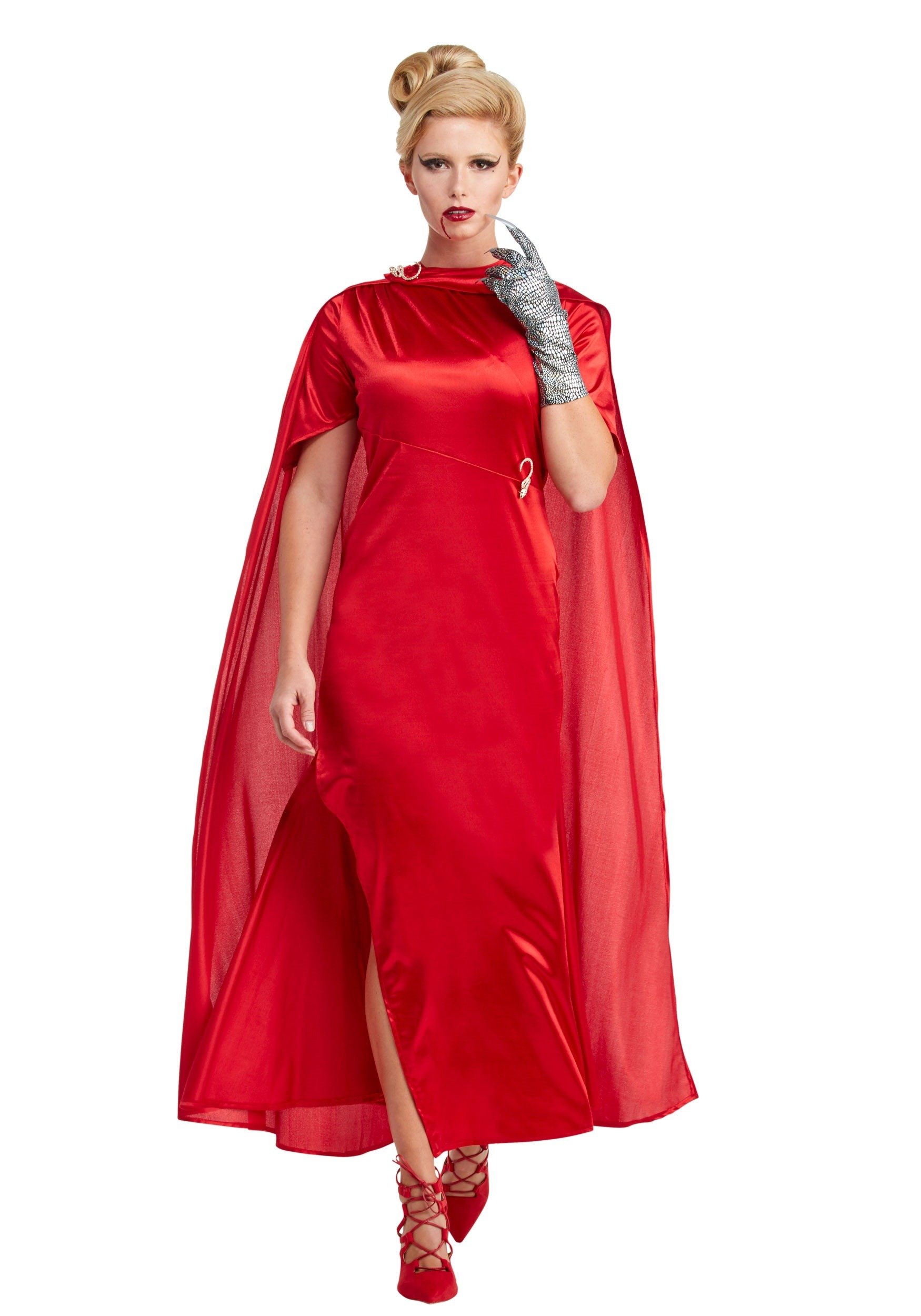 Womenu0027s American Horror Story The Countess Costume  sc 1 st  Halloween Costumes & American Horror Story Costumes - Rubber Man and Moira Costumes