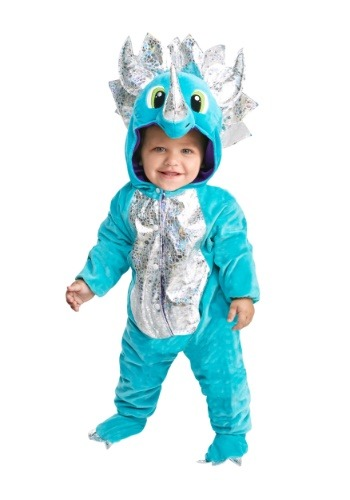 Click Here to buy Baby/Toddler Darling Dinosaur Costume from HalloweenCostumes, USA Funds & Shipping