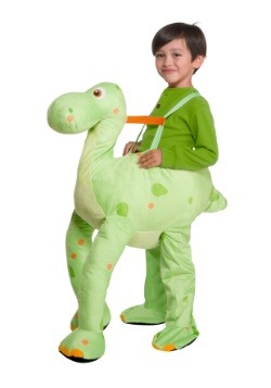 Green Dinosaur Toddler Costume