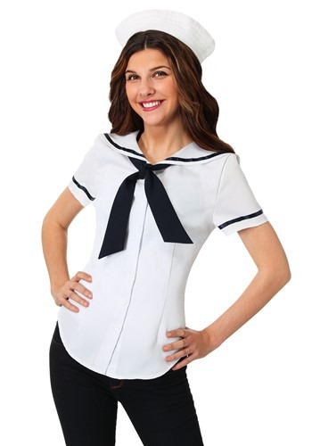 Sweet Sailor Plus Size Costume Set for Women