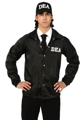 Click Here to buy DEA Agent Plus Size Adult Costume from HalloweenCostumes, CDN Funds
