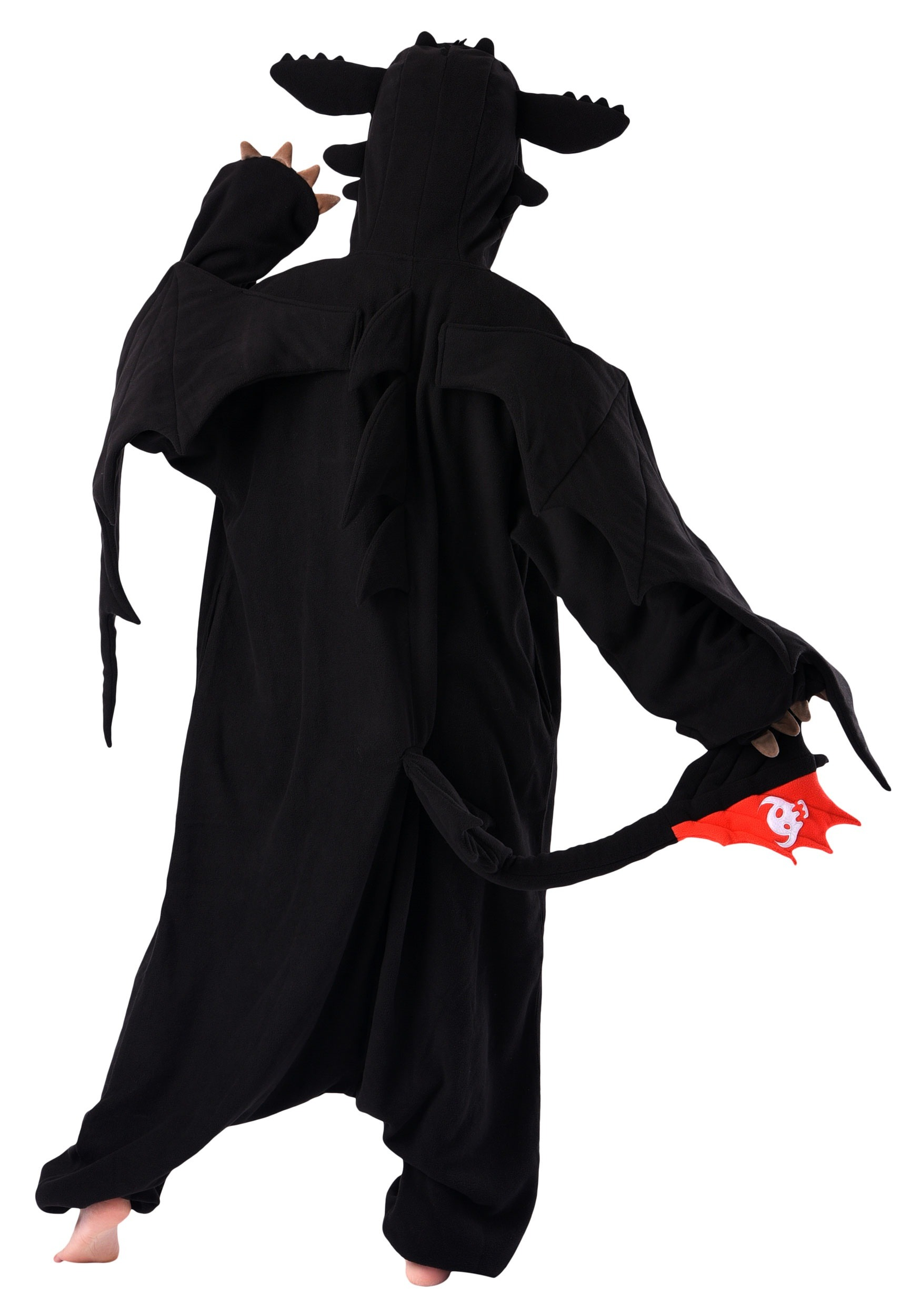 how to train your dragon toothless kigurumi costume for adults