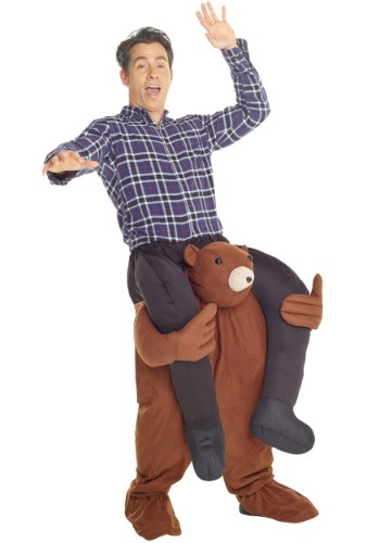 Click Here to buy Bear Piggyback Costume for Adults from HalloweenCostumes, USA Funds & Shipping