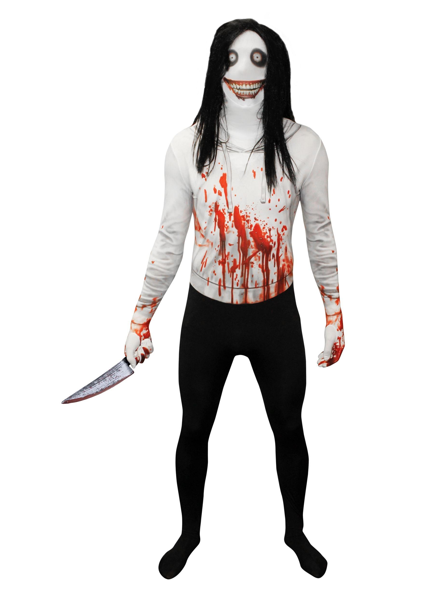 Adult Creepy Killer Morphsuit Costume