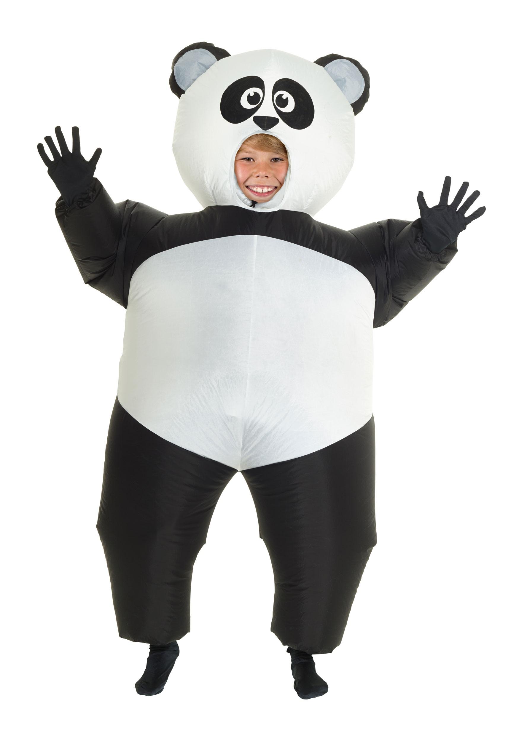 Sexual harassment panda costume for girls