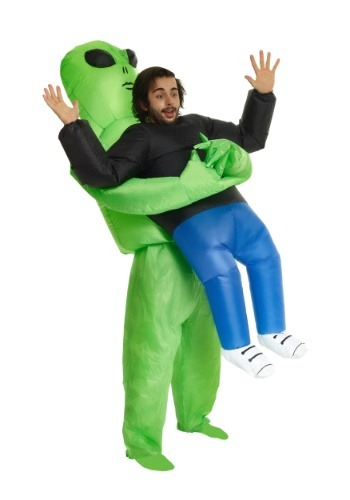 Adult Pick Me Up Alien Inflatable Costume