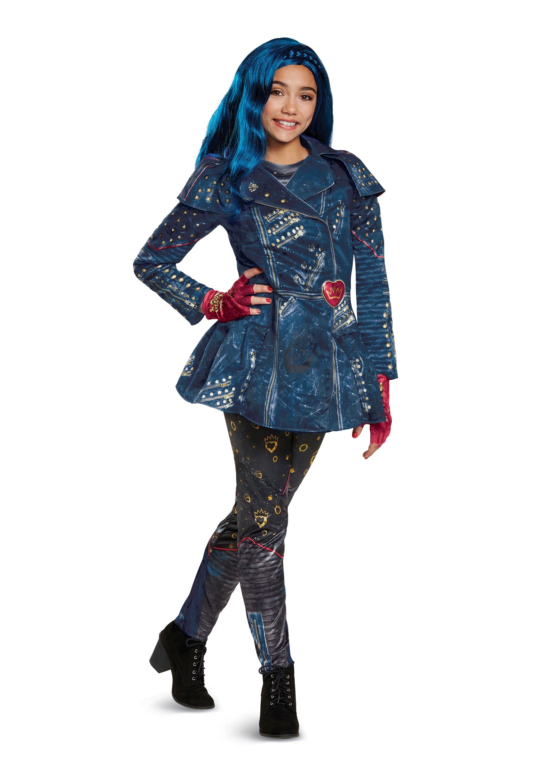 Girls Descendants 2 Evie Deluxe Costume  sc 1 st  Halloween Costumes & Disney Costumes For Adults u0026 Kids