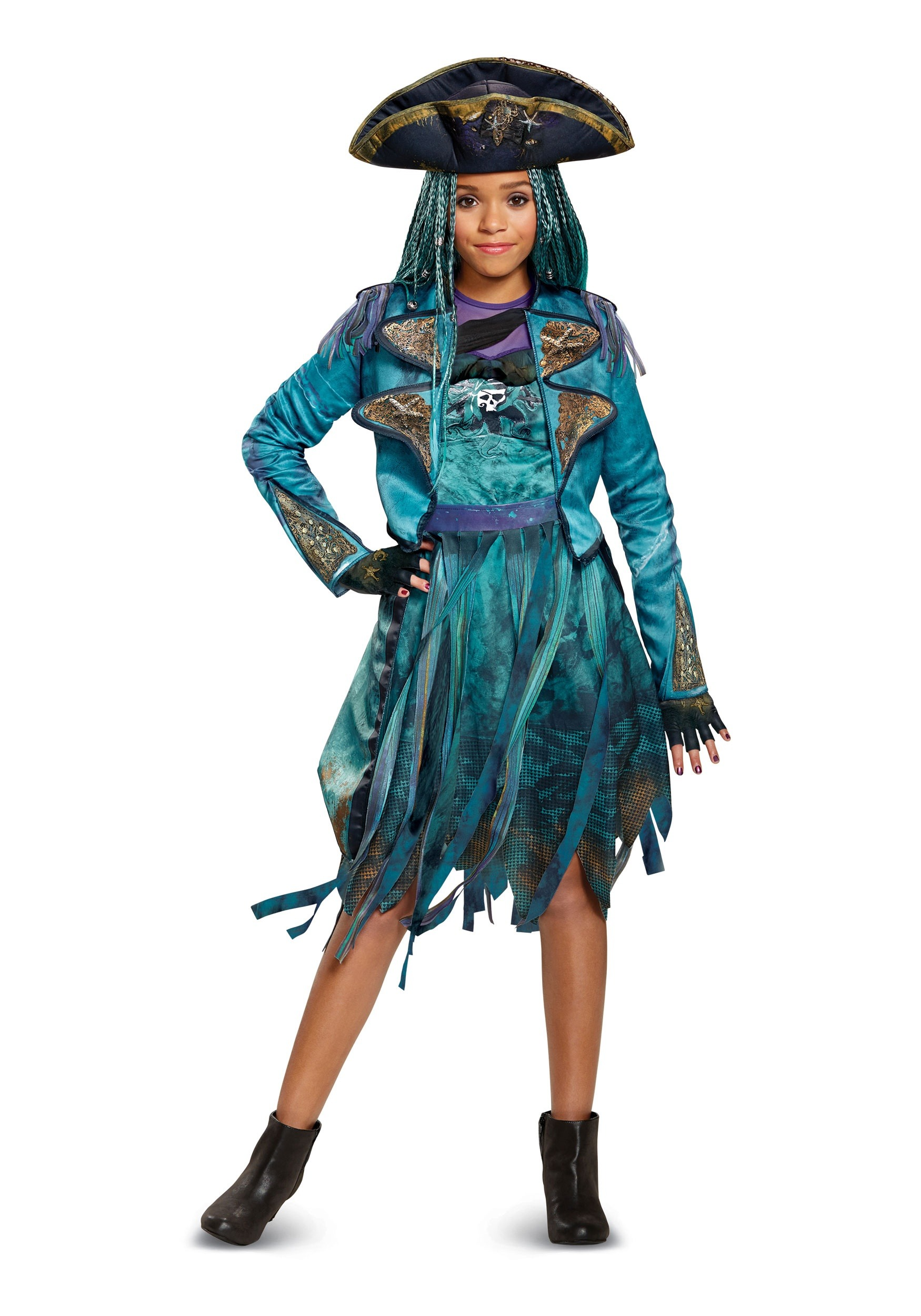 girls descendants 2 uma deluxe costume - Halloween Cotsumes