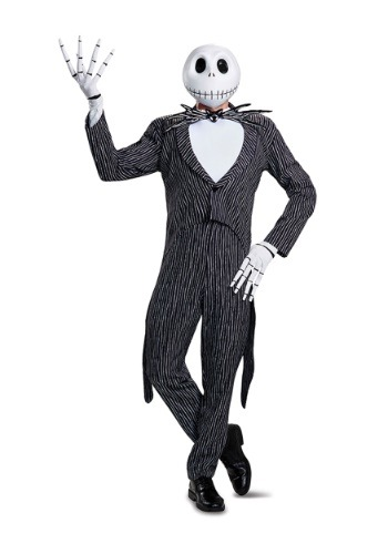 Click Here to buy Jack Skellington Prestige Mens Costume from HalloweenCostumes, USA Funds & Shipping