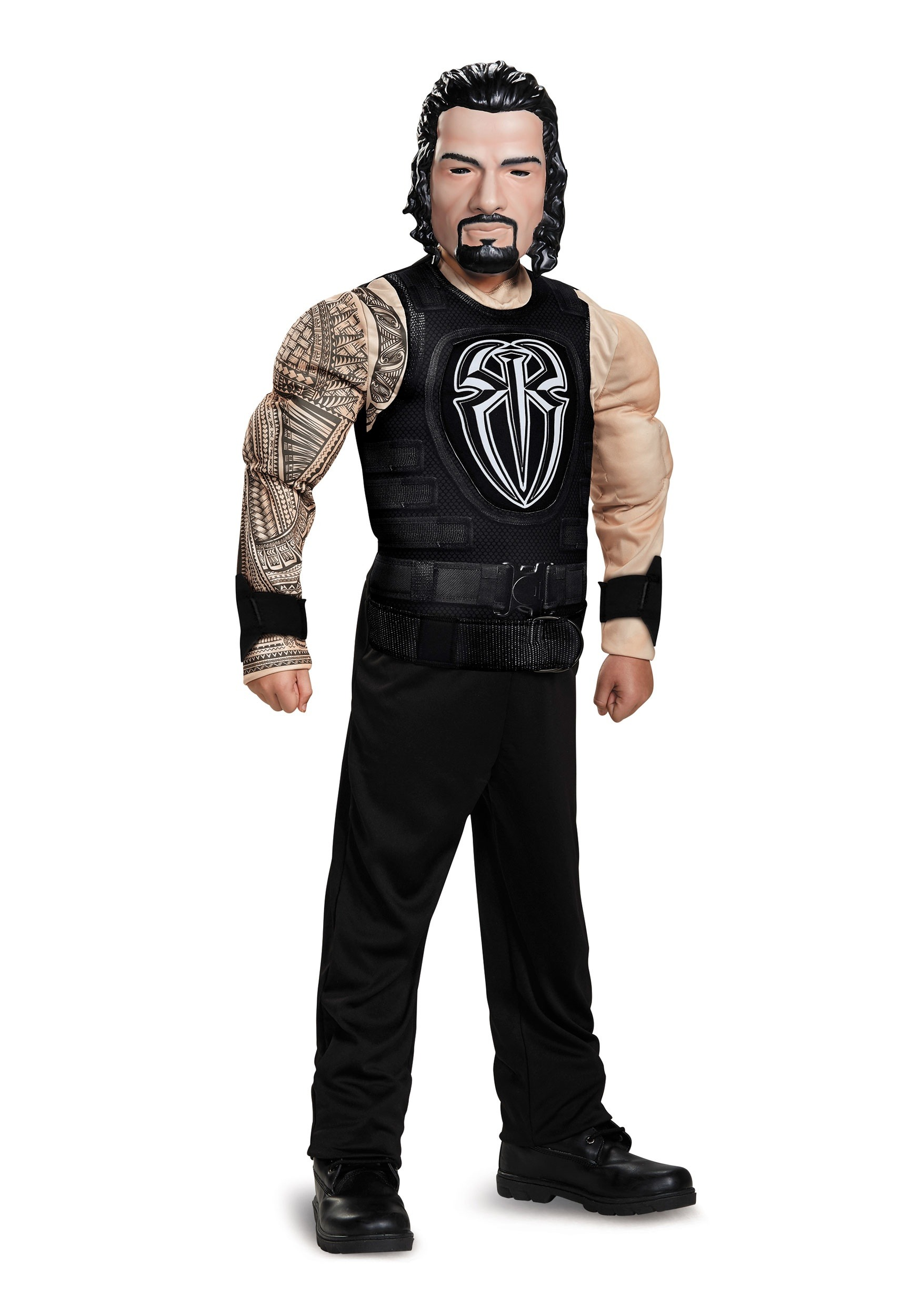 roman reigns classic boys muscle costume