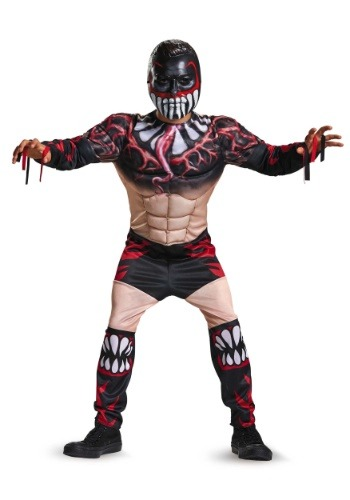 Finn Balor Classic Muscle Costume for Boys DI11538-4/6