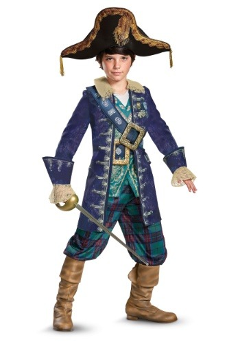 Click Here to buy Captain Barbossa Deluxe Boys Costume from HalloweenCostumes, USA Funds & Shipping