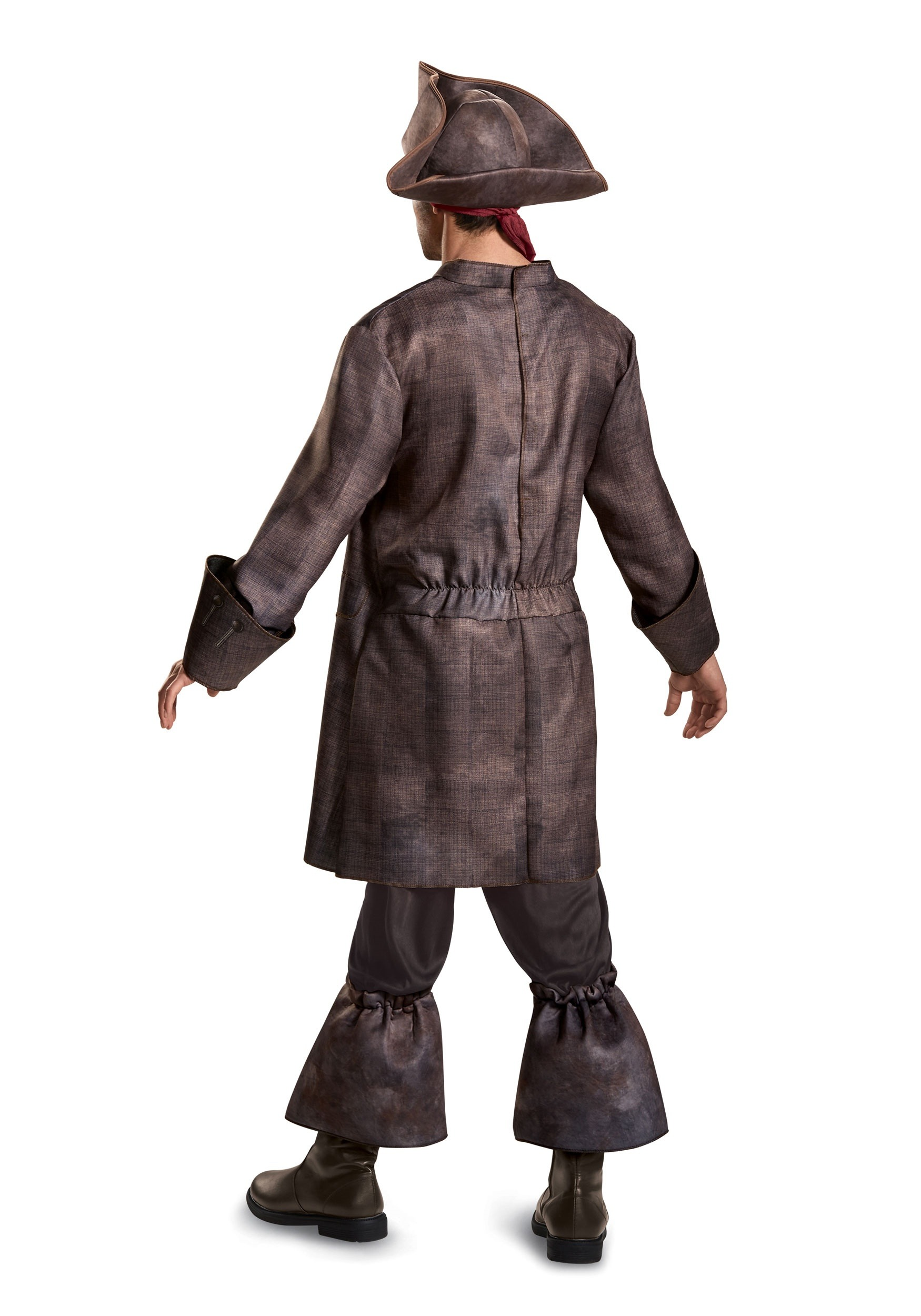 captain jack sparrow deluxe mens costume captain jack sparrow deluxe mens costume - Jack Sparrow Halloween Costumes