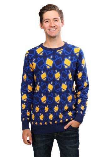 Hanukkah Dreidel Ugly Holiday Sweater